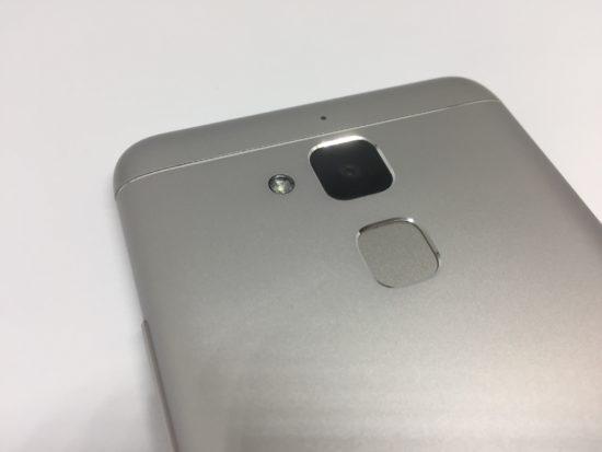 zenfone3maxの指紋認証