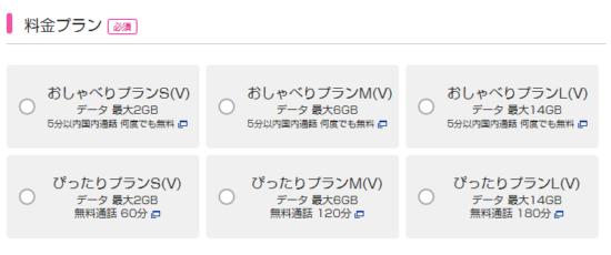 UQモバイルの乗り換え手順2