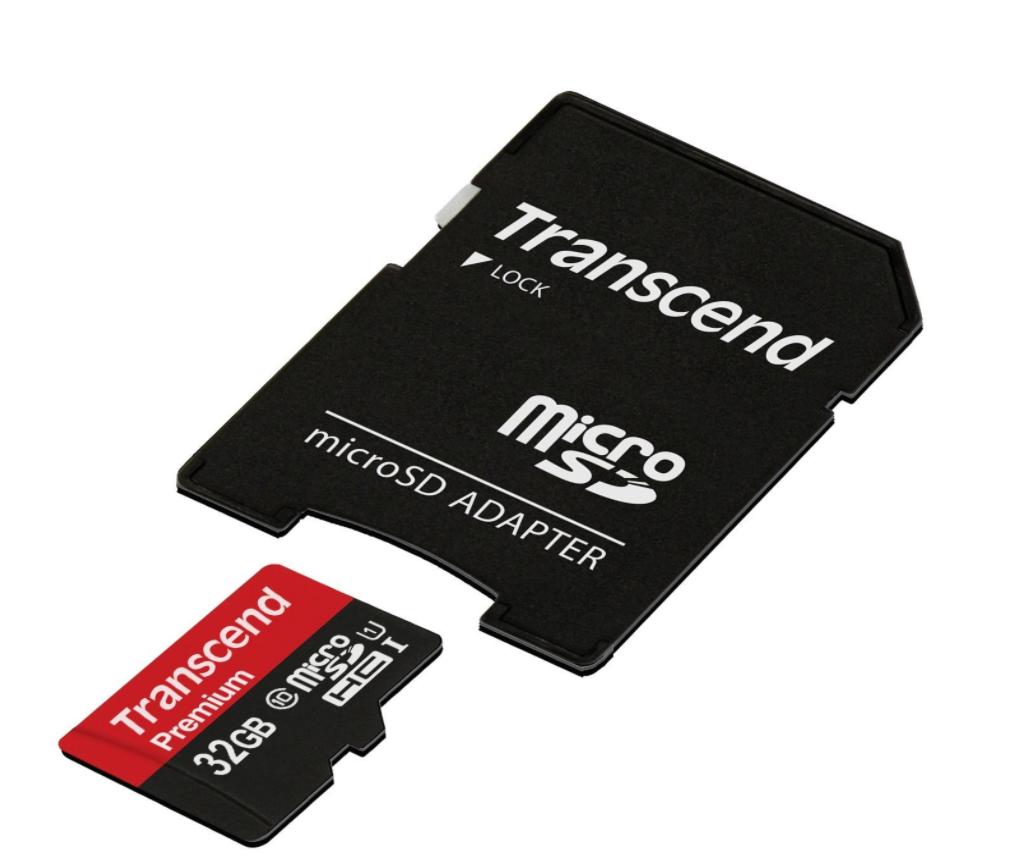 Transcend microSDHCカード 32GB