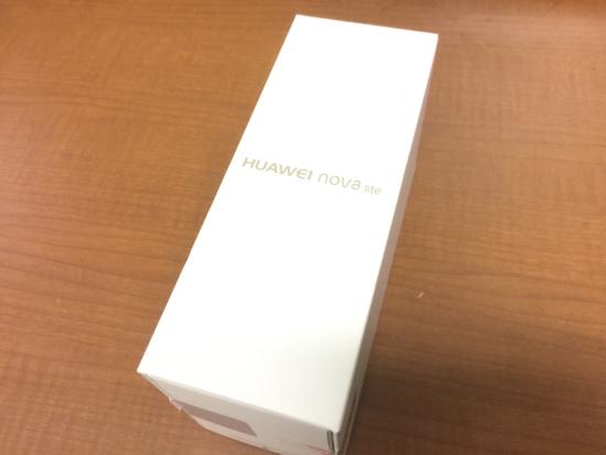 HUAWEI nova lite外箱