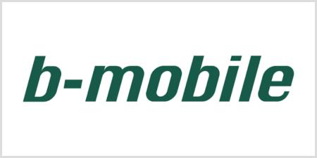 bモバイルのロゴ
