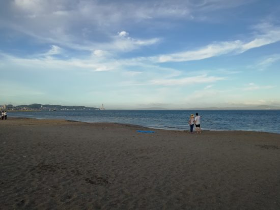 三浦海岸にて撮影