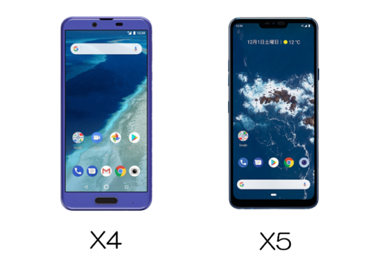 android x4/x5