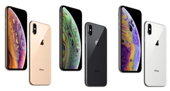 iPhone xsのデザイン