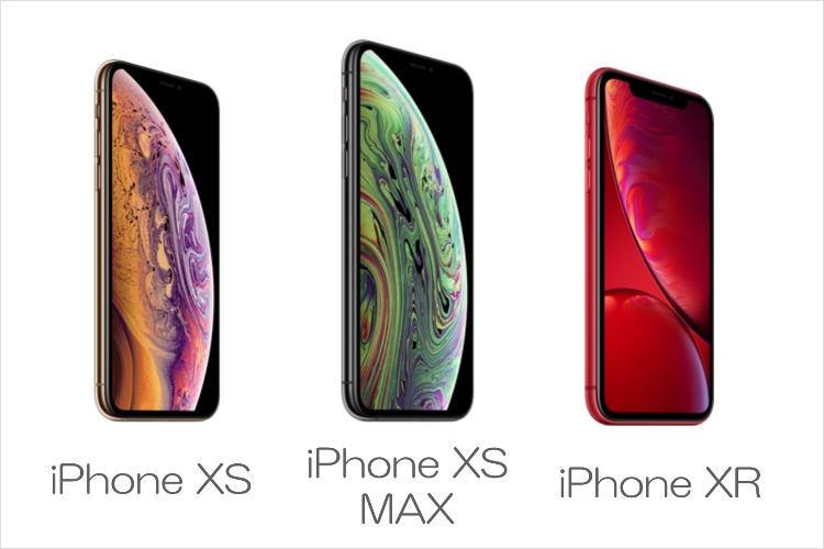 iPhone XS/XS MAXとiPhone XRの違いを完全比較