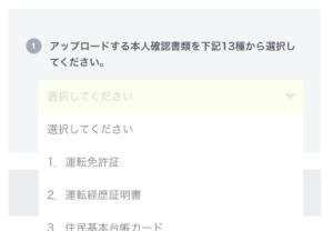 lineモバイルの申込み16