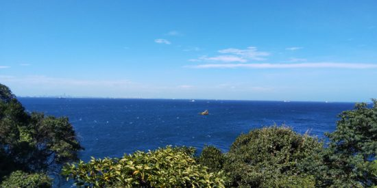 AQUOS sense plus SH-M07で海の風景を撮影