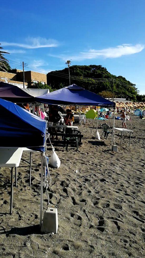 HUAWEI nova lite2で海を撮影