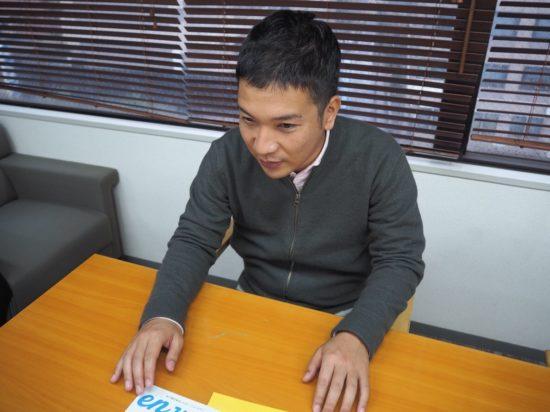 縁人 代表の横山さん 2