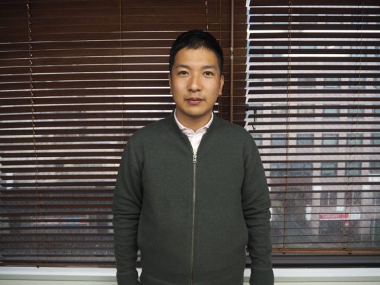 縁人 代表の横山さん
