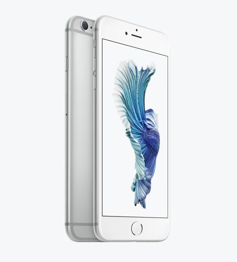 iPhone 6s シルバー