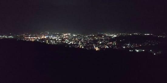 夜の街を撮影