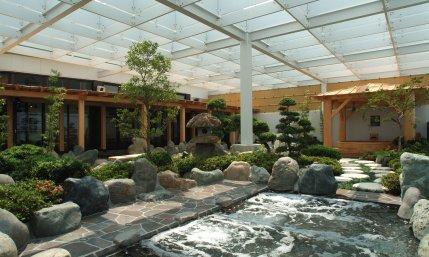 万葉倶楽部の露天風呂3