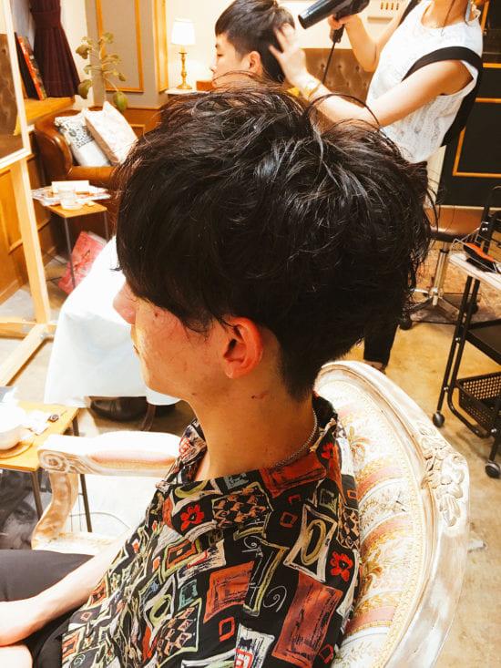 髪の毛の切り方