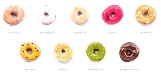 ドーナツの種類