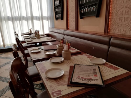 デ・ボデガのテーブル