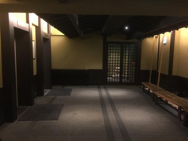 万葉倶楽部の入り口2