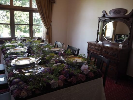 イギリス館の食卓
