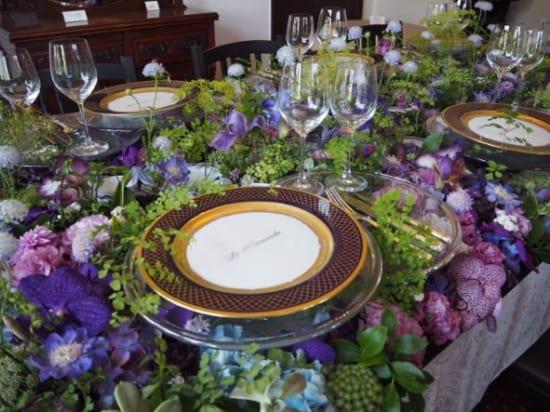 イギリス館の食卓2