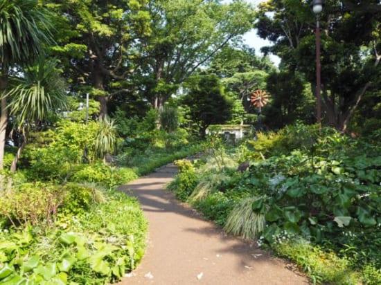 港の見える丘公園の入り口2