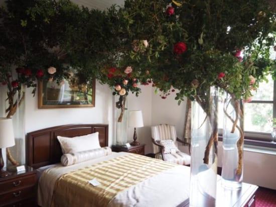 イギリス館の寝室
