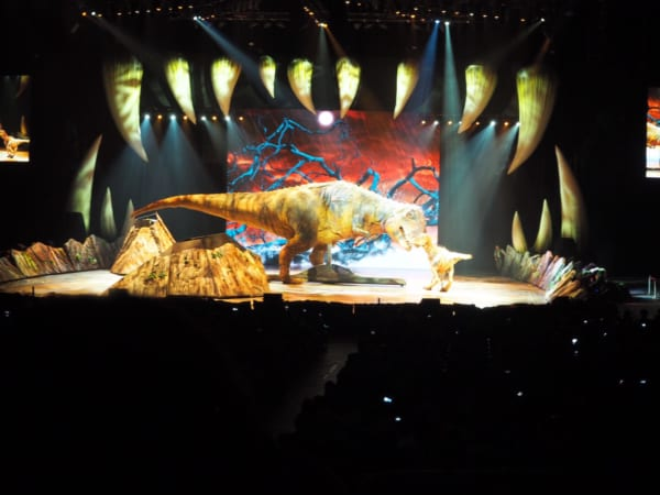 ティラノサウルスの親子