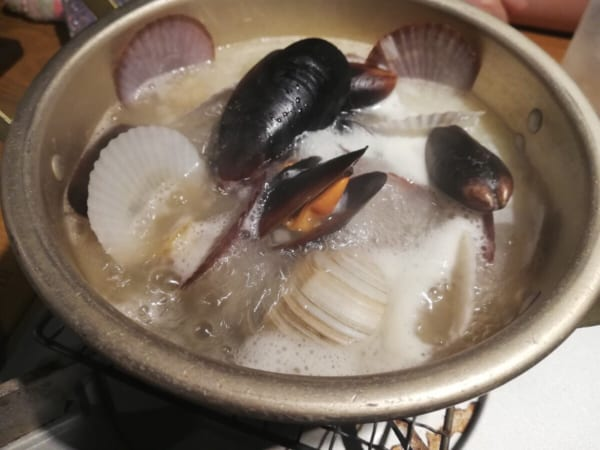 漁師の貝風呂2