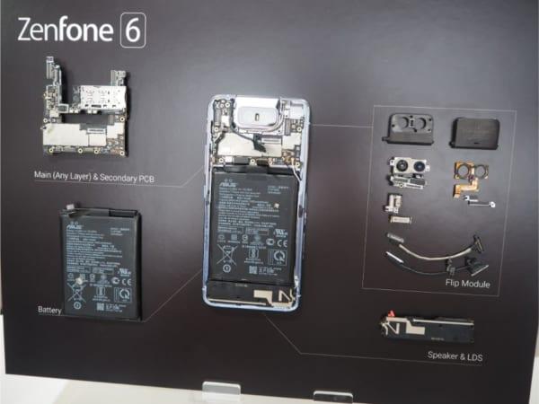 zenfone6の内部