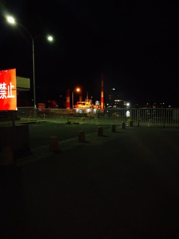 Xperia Aceの夜景写真