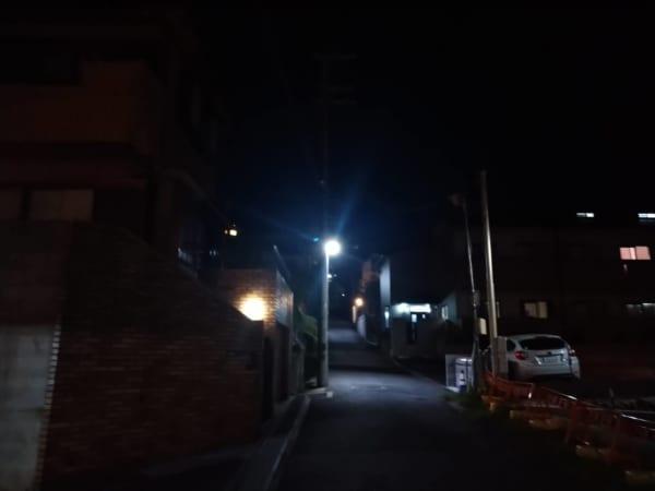 Xperiaの写真 夜の撮影3