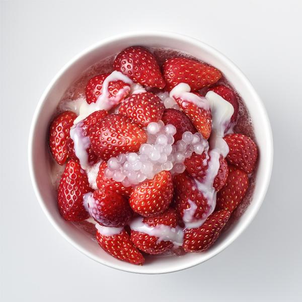 イチゴ豆花