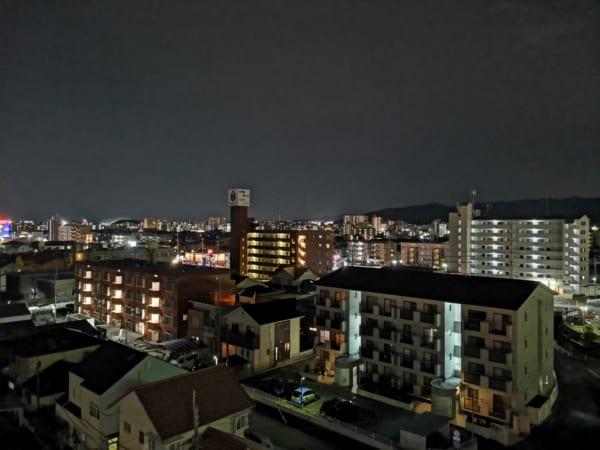 HUAWEI nova 5Tの夜景3