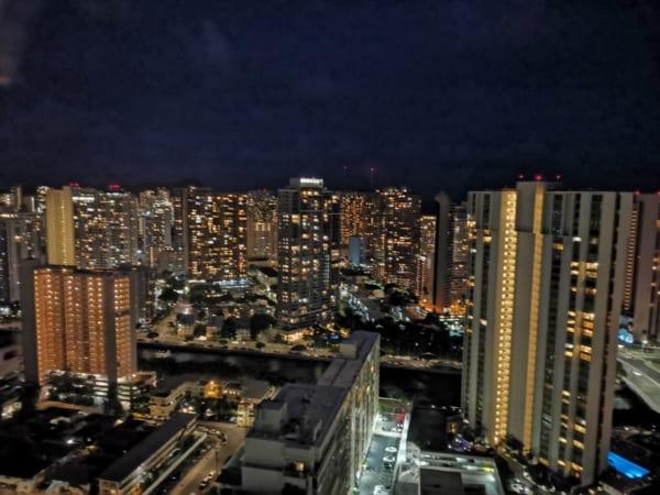 HUAWEI nova 5Tの夜景
