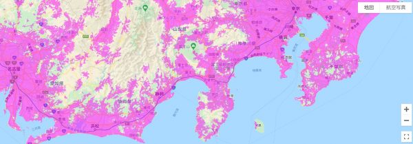 名古屋駅までの経路を調べる